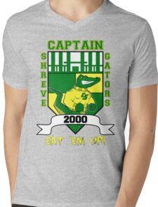 CAPTAIN SHREVE GATORS 2000 Mens V-Neck T-Shirt