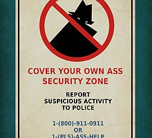 Security Zone by ArtByRuta