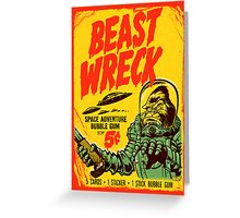 BEASTWRECK ATTACKS Greeting Card