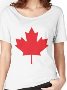 Maple_Leaf Women's Relaxed Fit T-Shirt