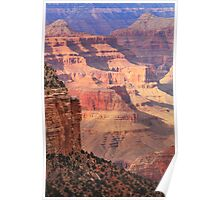 Layers of Light and Colors, Grand Canyon Poster