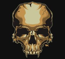 Golden Skull by inthefx