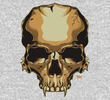 Golden Skull Kids Tee