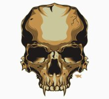 Golden Skull One Piece - Short Sleeve