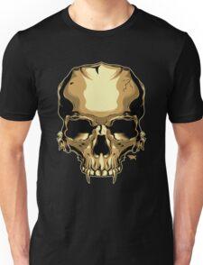 Golden Skull Unisex T-Shirt