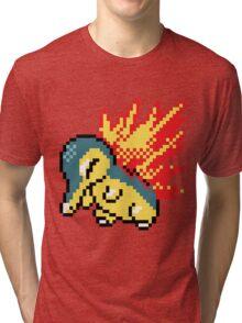Pokemon - Cyndaquil Sprite Tri-blend T-Shirt