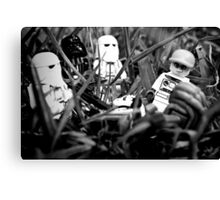 Lego celebrities get me outta here Canvas Print