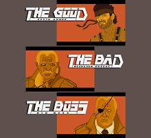 The Good, The Bad and The Boss - A Metal Gear Movie T-Shirt