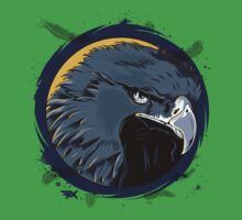 Eagle Illustration Kids Tee