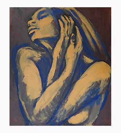Emotional - Female Nude Portrait Photographic Print