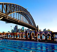 Gone Swimming, Sydney Harbour by JaneEmmaPhoto
