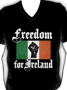 Freedom for Ireland (Vintage Distressed Design) T-Shirt