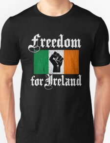 Freedom for Ireland (Vintage Distressed Design) T-Shirt