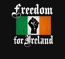 Freedom for Ireland (Vintage Distressed Design) Unisex T-Shirt
