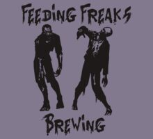 Feeding Freaks Brewing Black Logo by FeedingFreaks