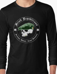 Irish Republicans: United, Undefeated (Vintage Distressed) Long Sleeve T-Shirt