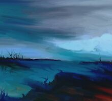Blue world  by Toma Ovidiu-Iulian