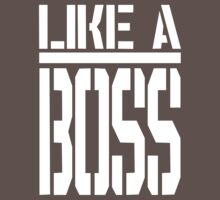 Like A Boss - Super Swag by robotface