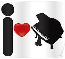 I_Heart_Piano Poster