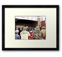 The Duck Festival Winners Framed Print