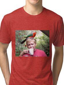 Parrot coffee, Killarney, Qld, Australia Tri-blend T-Shirt