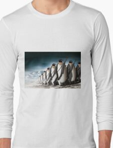 Penguin Army Long Sleeve T-Shirt