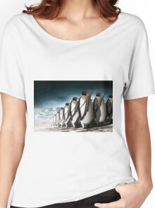 Penguin Army Women's Relaxed Fit T-Shirt