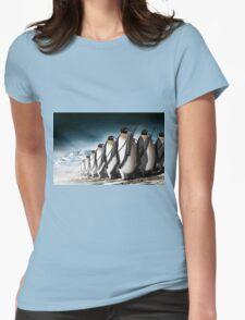Penguin Army Womens Fitted T-Shirt