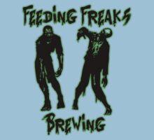 Feeding Freaks Brewing Green Logo Baby Tee
