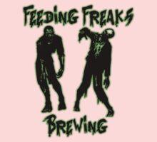 Feeding Freaks Brewing Green Logo One Piece - Short Sleeve