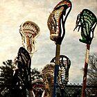 lacrosse sticks  by KSKphotography