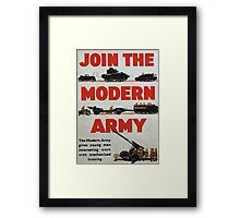Join the Army Framed Print