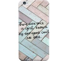 Blank Space iPhone Case/Skin