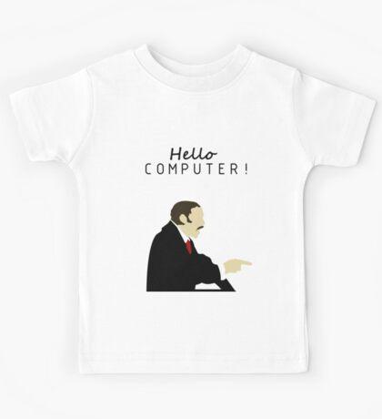 HELLO COMPUTER!!! Kids Tee