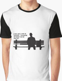 FORREST GUMP - CHOCOLATES Graphic T-Shirt
