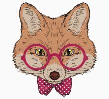Hipster Fox Design  by juankdef