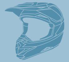 Mx Helmet Bright Blue Kids Clothes
