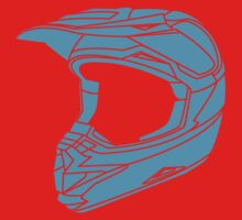 Mx Helmet Bright Blue by Tessai-Attire