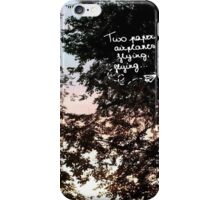 out of the woods lyrics iPhone Case/Skin
