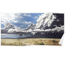 Colorado Clouds Before the Storm Poster