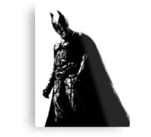 The Dark Knight (transparent background) Metal Print
