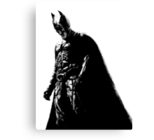 The Dark Knight (transparent background) Canvas Print