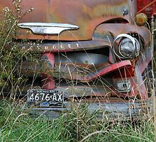 Old Truck Resting by Connie Bunke