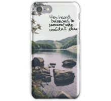style hidden message iPhone Case/Skin