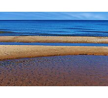 Reefs on  Shoreline Photographic Print