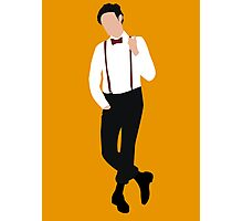 Vector Matt Smith Photographic Print