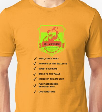The Scrotums - Complete Discography Unisex T-Shirt