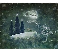 Happy Holidays... Photographic Print