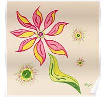 Flowering Joy Poster