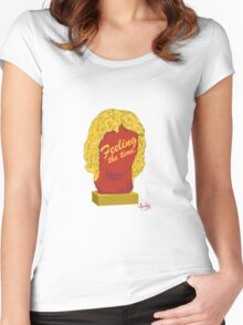 Feeling the time Women's Fitted Scoop T-Shirt